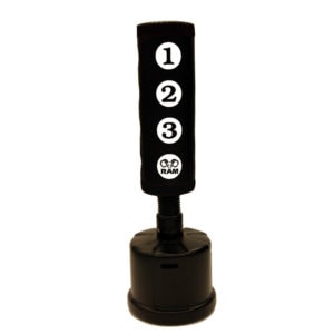 RAM C STANDING PUNCHING BAG WITH SCORING ZONES BLACK