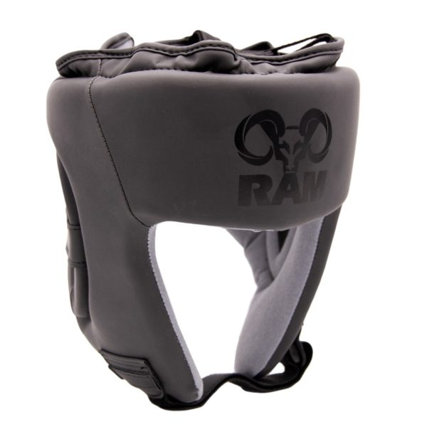 Mat zwart hoofdbeschermer van RAM.