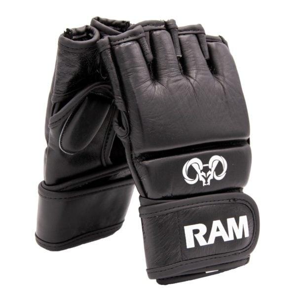 RAM Impact MMA Handschoenen Leer(4)